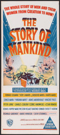 """Movie Posters:Fantasy, The Story of Mankind (Warner Brothers, 1957). Australian Daybill(13"""" X 30""""). Fantasy.. ..."""