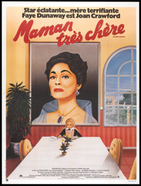 "Mommie Dearest (Paramount, 1981). French Grande (47"" X 63""). Cult Classic"