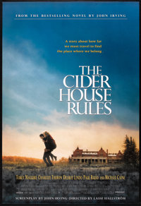 """The Cider House Rules (Miramax, 1999). One Sheet (27"""" X 40"""") SS. Drama"""