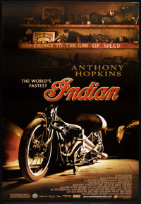 "The World's Fastest Indian (Magnolia Pictures, 2005). One Sheets (2) (27"" X 40"") SS and DS. Styles A &..."