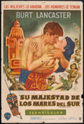 """Movie Posters:Adventure, His Majesty O'Keefe (Warner Brothers, 1954). Argentinean Poster(29"""" X 43""""). Adventure.. ..."""