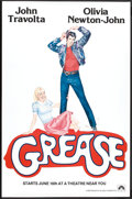 "Movie Posters:Musical, Grease (Paramount, 1978). One Sheet (27"" X 41"") Advance. Musical.. ..."