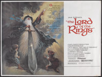 """The Lord of the Rings (United Artists, 1978). Subway (41"""" X 54""""). Animated"""