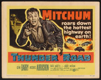 """Thunder Road (United Artists, 1958). Lobby Card Set of 8 (11"""" X 14""""). Crime. ... (Total: 8 Items)"""