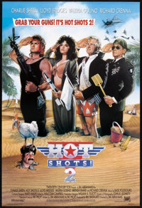 """Hot Shots! Part Deux (20th Century Fox, 1993). One Sheet (27"""" X 41"""") DS Style F. Comedy"""