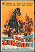 "Movie Posters:Science Fiction, The Giant Behemoth (Allied Artists, 1959). Argentinean Poster (29"" X 43""). Science Fiction.. ..."