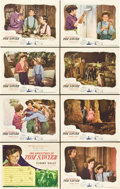 "Movie Posters:Adventure, The Adventures of Tom Sawyer (United Artists, 1938). Lobby Card Setof 8 (11"" X 14"").. ... (Total: 8 Items)"