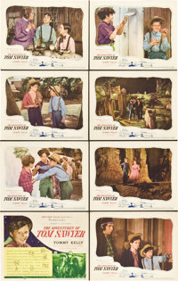 "The Adventures of Tom Sawyer (United Artists, 1938). Lobby Card Set of 8 (11"" X 14""). ... (Total: 8 Items)"