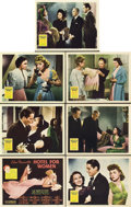 """Movie Posters:Drama, Hotel for Women (20th Century Fox, 1939). Title Lobby Card and Lobby Cards (6) (11"""" X 14"""").. ... (Total: 7 Items)"""