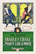 """Movie Posters:Comedy, Mighty Like a Moose (Pathé, 1926). One Sheet (27"""" X 41"""").. ..."""