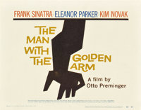 """The Man with the Golden Arm (United Artists, 1955). Title Lobby Card (11"""" X 14"""")"""