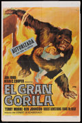 "Movie Posters:Adventure, Mighty Joe Young (RKO, R-1968). Spanish One Sheet (25"" X 38"").Adventure.. ..."