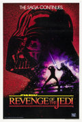 "Movie Posters:Science Fiction, Revenge of the Jedi (20th Century Fox, 1982). One Sheet (27"" X 41"")Advance ""No Date"" Style.. ..."