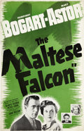 "Movie Posters:Film Noir, The Maltese Falcon (Warner Brothers, 1941). Pressbook (11"" X 17"")....."