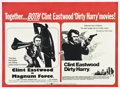 "Movie Posters:Crime, Dirty Harry/Magnum Force Combo (Warner Brothers, R-1975). BritishQuad (30"" X 40"").. ..."