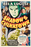 """Movie Posters:Serial, Shadow of Chinatown (Victory, 1936). Stock One Sheet (27"""" X 41"""").. ..."""