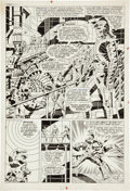 Original Comic Art:Panel Pages, Jim Steranko Strange Tales #160 Nick Fury, Agent ofS.H.I.E.L.D. page 10 Original Art (Marvel, 1967)....