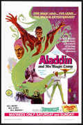 "Movie Posters:Fantasy, Aladdin and His Magic Lamp (Childhood Productions, 1968). One Sheet (27"" X 41""). Fantasy.. ..."