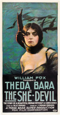 "Movie Posters:Romance, The She-Devil (Fox, 1918). Three Sheet (41"" X 81"").. ..."
