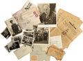 Military & Patriotic:WWII, World War II American Prisoner of War Archive of Captain Craig D. Campbell, aide-de-camp to General Dwight D. Eisenhower. ...
