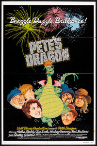 """Pete's Dragon (Buena Vista, 1977). One Sheets (2) (27"""" X 41"""") Regular Style and Advance. Animated. ... (Total:..."""