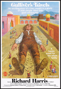 "Gulliver's Travels (Sunn Classic, 1977). One Sheet (27"" X 41""). Children's"