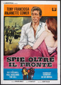 "Movie Posters:Action, In Enemy Country (Universal, 1968). Italian 2 - Folio (39"" X 55""). Action.. ..."