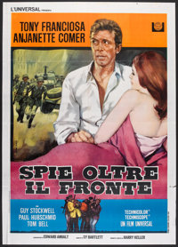 """In Enemy Country (Universal, 1968). Italian 2 - Folio (39"""" X 55""""). Action"""