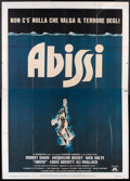 "Movie Posters:Adventure, The Deep (Columbia, 1977). Italian 4 - Folio (55"" X 78"").Adventure.. ..."