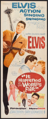 """It Happened at the World's Fair (MGM, 1963). Insert (14"""" X 36""""). Elvis Presley"""