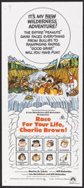 "Movie Posters:Animated, Race for Your Life, Charlie Brown (Paramount, 1977). AustralianDaybill (13"" X 30""). Animated.. ..."