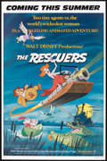 "Movie Posters:Animated, The Rescuers (Buena Vista, 1977). One Sheets (2) (27"" X 41"") Regular and Review Style. Animated.. ... (Total: 2 Items)"