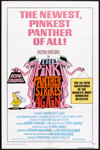 """The Pink Panther Strikes Again (United Artists, 1976). One Sheet (27"""" X 41""""). Comedy"""