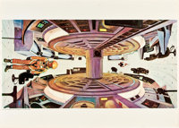"""2001: A Space Odyssey (MGM, 1968). Italian Promotional Posters (12) (40"""" X 27.5""""); (3) (40"""" X 55"""")..."""