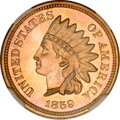 Proof Indian Cents, 1859 1C PR66 NGC. CAC....