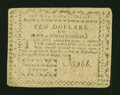 Colonial Notes:North Carolina, North Carolina August 8, 1778 $10 Very Fine-Extremely Fine....