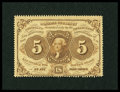 Fractional Currency:First Issue, Fr. 1228 5¢ First Issue Choice About New....