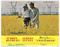 """Two for the Road (20th Century Fox, 1967). Autographed Lobby Card (11"""" X 14"""")"""