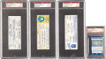 Baseball Collectibles:Tickets, 1979-1999 3,000 Hit Tickets Lot of 4. ... (Total: 4 items)