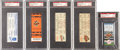 Baseball Collectibles:Tickets, 1995-1998 Cal Ripken, Jr. Career Highlights Tickets Lot of 5. ...(Total: 5 items)