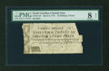 Colonial Notes:North Carolina, North Carolina March 9, 1754 26s/8d PMG Very Good 8 Net....