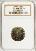 Proof Barber Quarters, 1909 25C PR64 NGC....