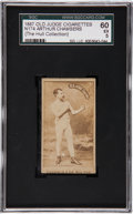 Boxing Cards:General, 1887 N174 Old Judge Arthur Chambers SGC 60 EX 5....