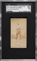 Boxing Cards:General, 1887 N172 Old Judge George Godfrey SGC 84 NM 7....