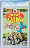 Bronze Age (1970-1979):Horror, Swamp Thing #23 (DC, 1976) CGC NM+ 9.6 White pages....