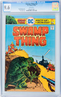 Bronze Age (1970-1979):Horror, Swamp Thing #22 (DC, 1976) CGC NM+ 9.6 White pages....