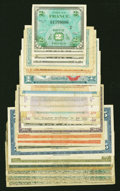 Military Payment Certificates:Series 611, Series 611 $1 Replacement Extremely Fine.... (Total: 25 notes)