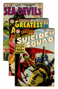 Silver Age (1956-1969):Adventure, DC Silver Age Adventure Comics Group (DC, 1961-63) Condition: Average VG.... (Total: 15 Comic Books)