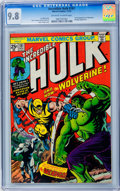 Bronze Age (1970-1979):Superhero, The Incredible Hulk #181 (Marvel, 1974) CGC NM/MT 9.8 Off-white to white pages....