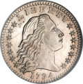 Early Half Dimes, 1794 H10C MS66 NGC....
